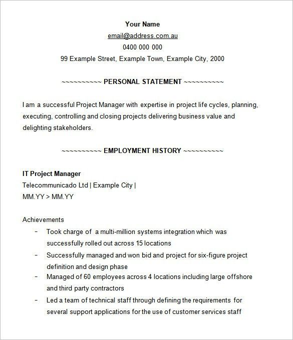 junior project manager resume entry level project manager resume