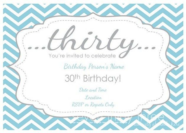Fun Birthday Party Invitations Templates Ideas : funny 30th ...