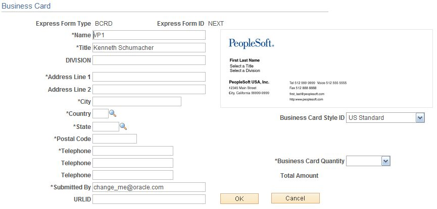 Creating Express Forms