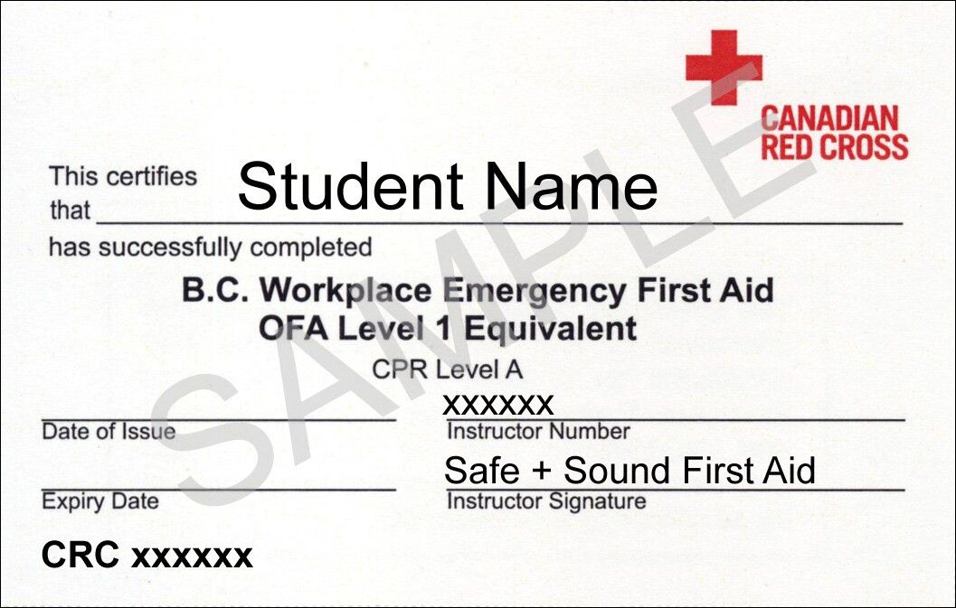 Workplace Emergency First Aid | Coquitlam First Aid