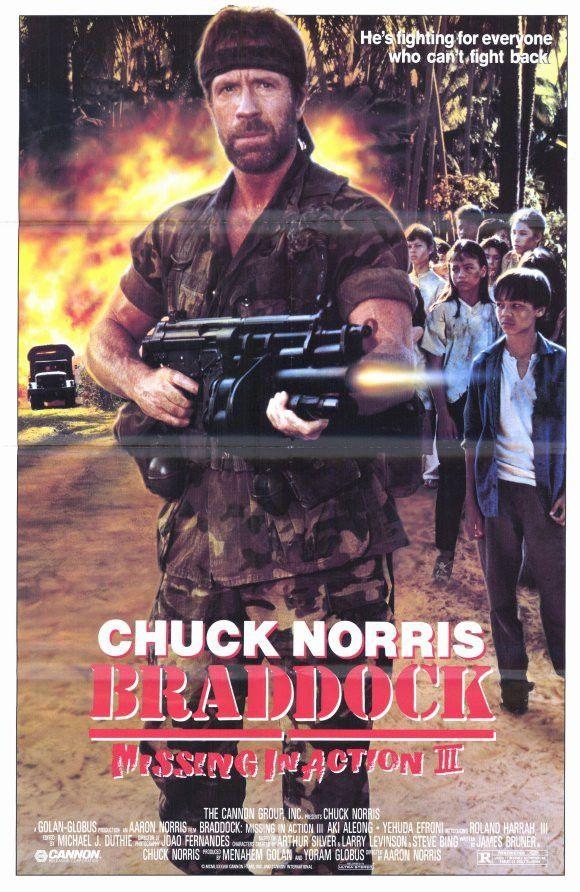 Braddock: Missing in Action III 1988 Movie Posters | JoBlo Posters