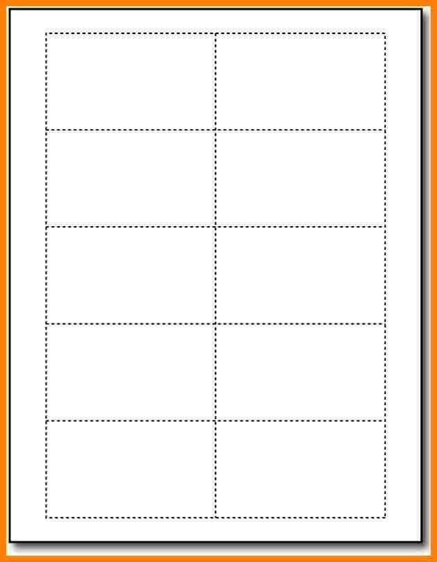 Card Word Template [Template.billybullock.us ]