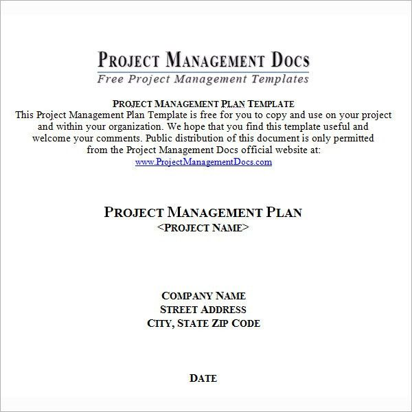 Project Plan Template - 12+ Download Free Documents in PDF, Word ...