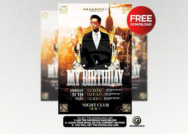 Free Birthday Flyer Templates. free flyer templates download more ...