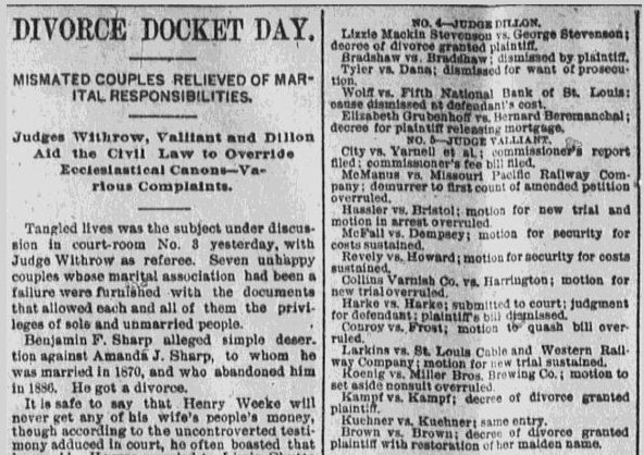 How to Find Your Ancestor's Divorce Records in the Newspaper