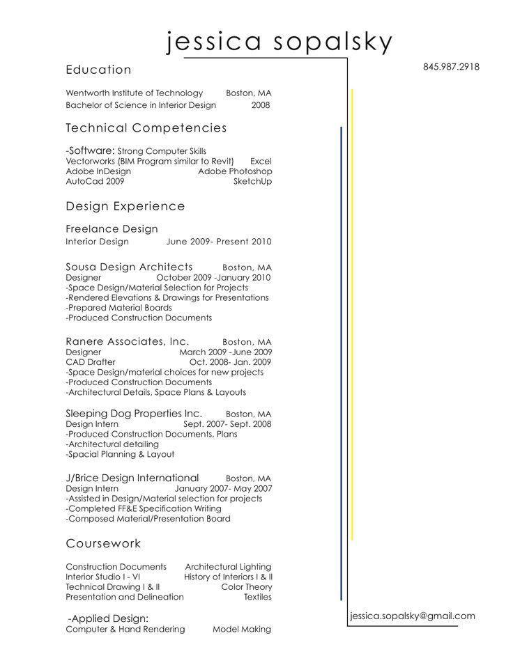 147 best Resume images on Pinterest   Resume ideas, Resume design ...