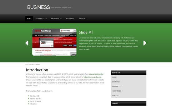 template free download with css 20 best websites to download free ...