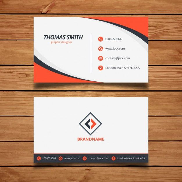 Name Card Design Vectors, Photos and PSD files | Free Download