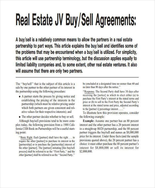49+ Examples of Partnership Agreements