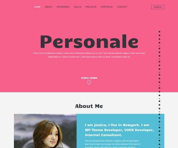 55+ Free Responsive Portfolio HTML5 Templates - Devfloat