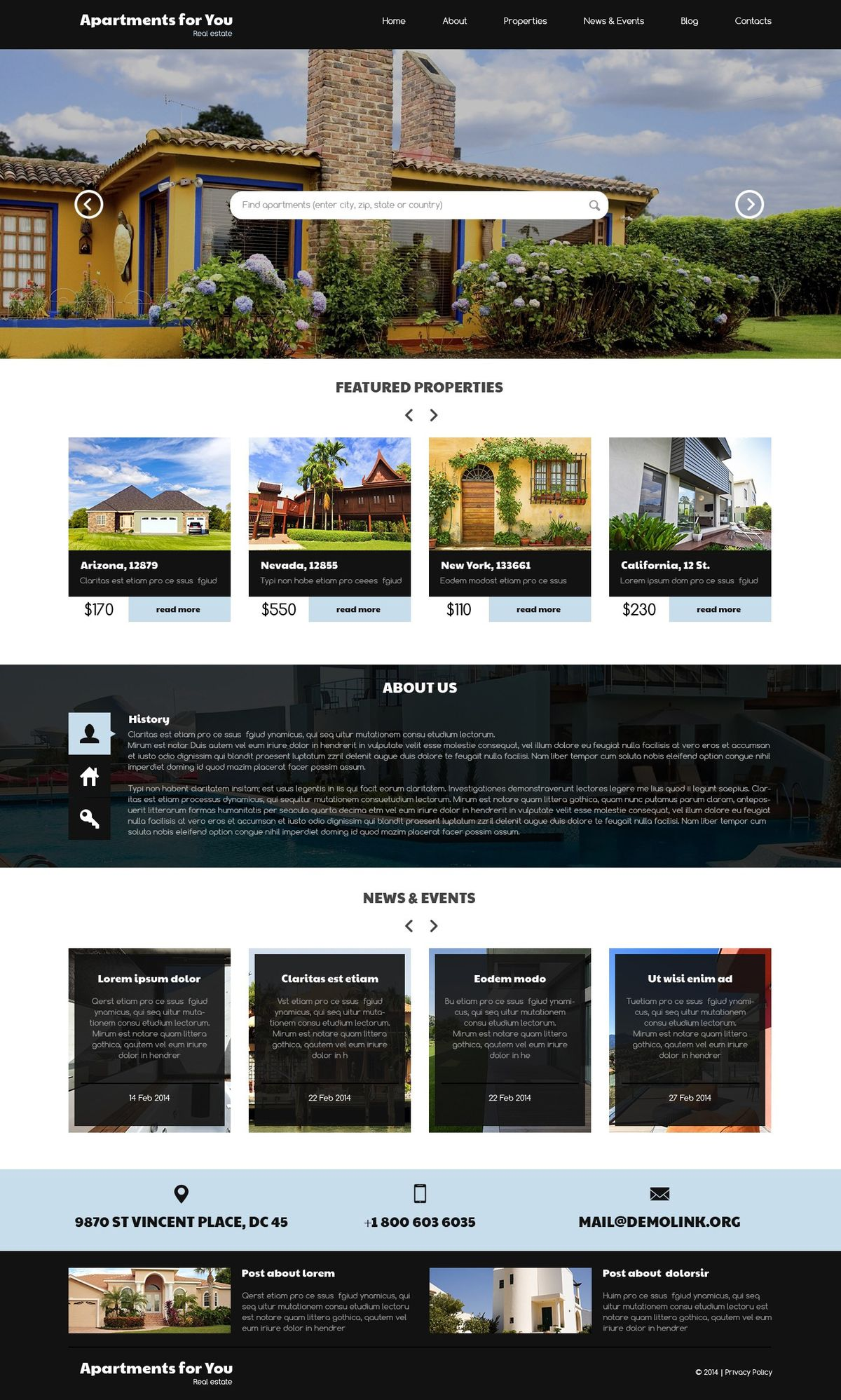 Real Estate Agent WordPress Themes | TemplateMonster