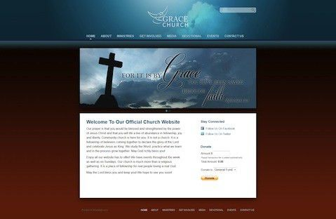They're Here! Three Stunning New Church Website Templates ...