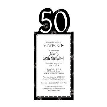 50th Birthday Invitation Templates | Best Template Collection