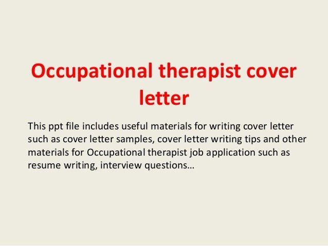 physical therapy cover letter samples
