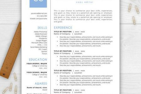 Resume Templates That Stand Out - Reentrycorps