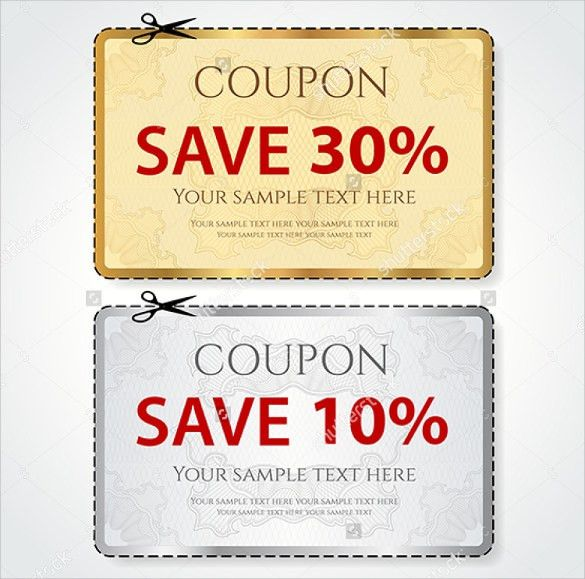 13 free HTML Coupon Templates - Styles Designs