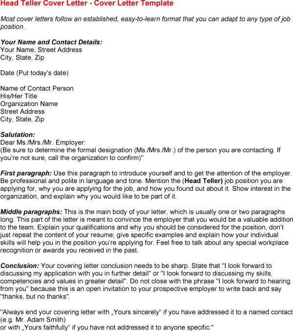 How To Head A Cover Letter | Resume Badak