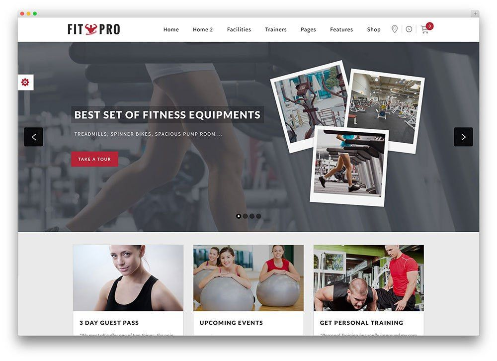 20+ Best WordPress Fitness Themes 2017 For Gym and Fitness Centers ...