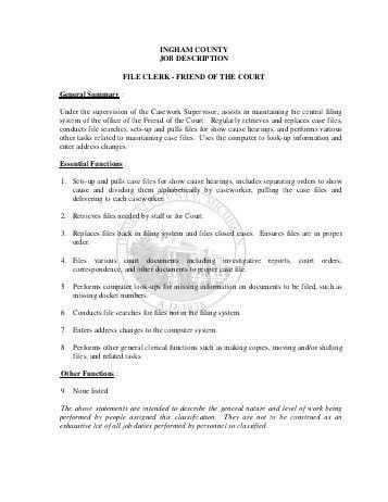 medical records clerkassistant resume samples. office clerk resume ...