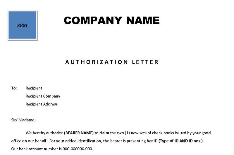 Authorization Letter - EnkiVillage