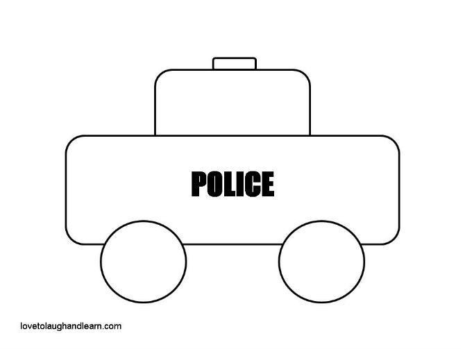 police car craft Archives - Love to Laugh and Learn