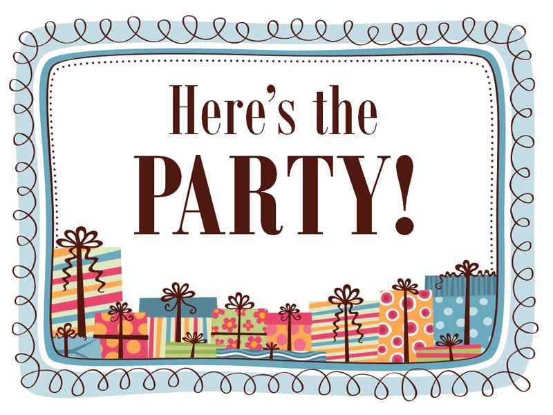Free Party Invitation Template | Brochure Templates