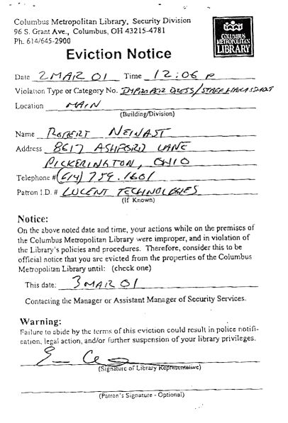 maine 30 day notice to terminate tenancy. notice of eviction for ...