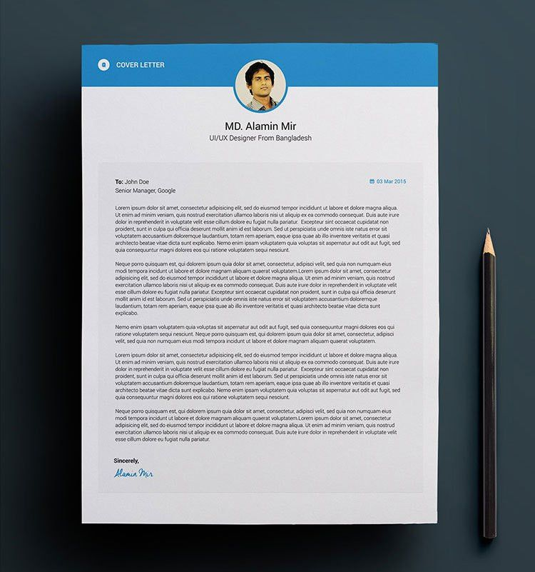 Free Simple Resume, Cover Letter & Business Card Design Template ...