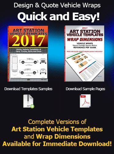 Art Station Vehicle Templates