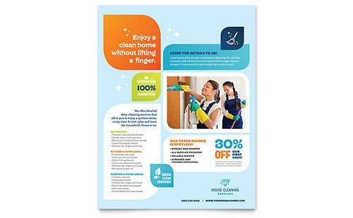 Home Maintenance Flyers | Templates & Designs