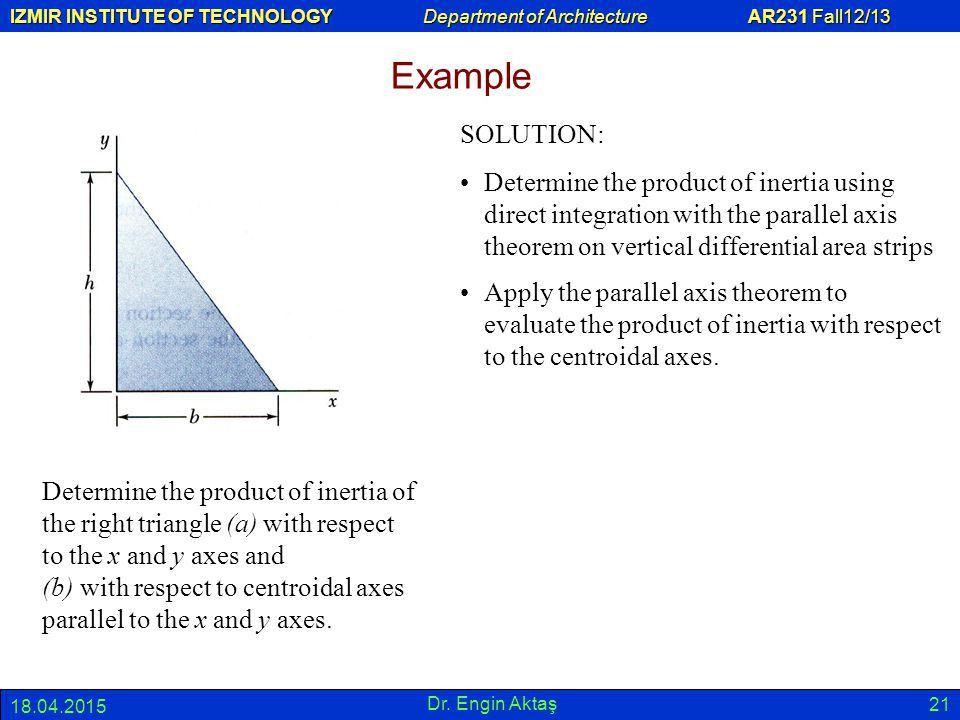 8.0 SECOND MOMENT OR MOMENT OF INERTIA OF AN AREA - ppt video ...