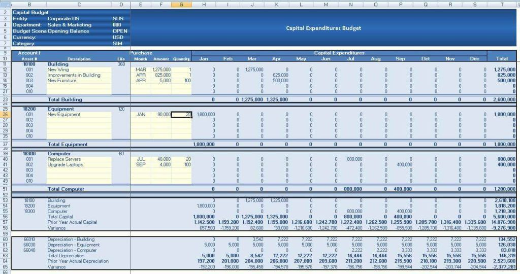 Accounting Spreadsheet Templates For Small Business | HAISUME