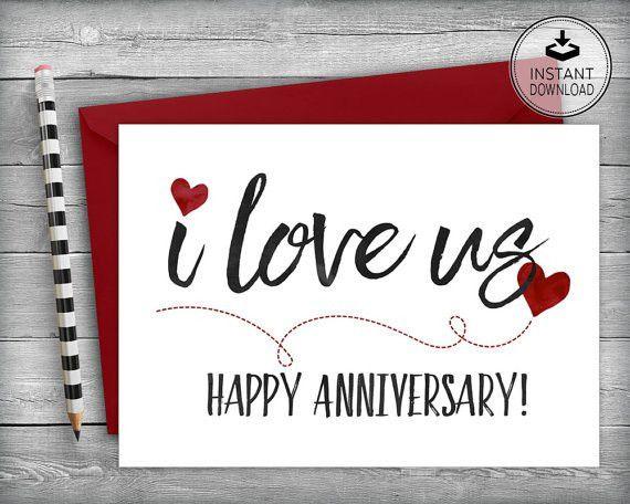 Anniversary Card | Happy Anniversary Card | Love Card | Romantic ...