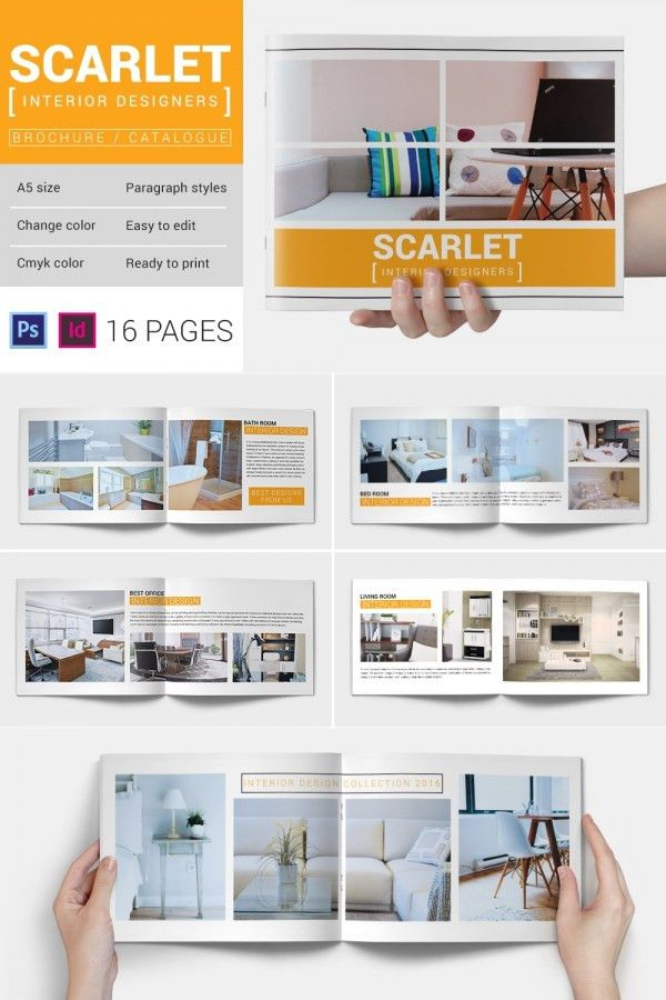 PSD Catalogue Template - 53+ PSD, Illustrator, EPS, Indesign ...