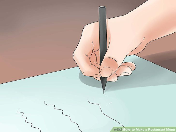 3 Ways to Make a Restaurant Menu - wikiHow