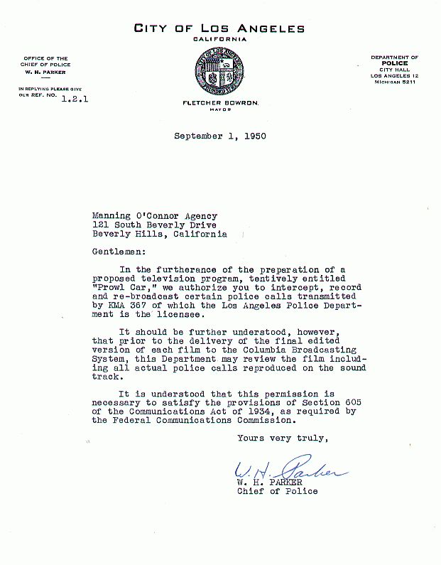 los angeles police department communications division history - Police Chief Cover Letter
