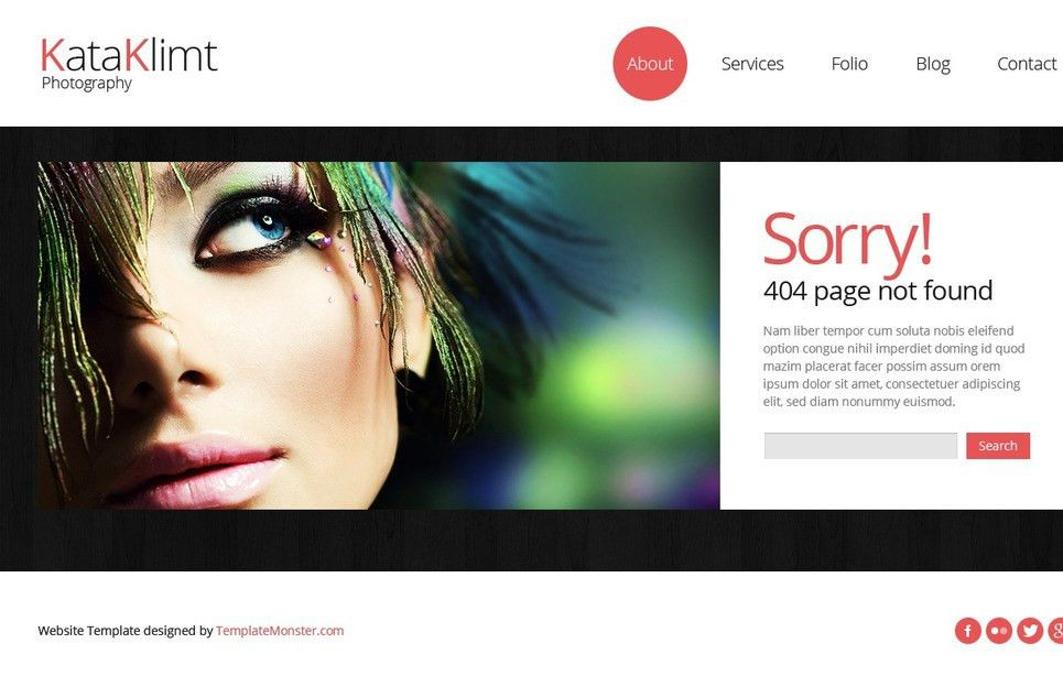 Bootstrap Free Responsive Template - Photography