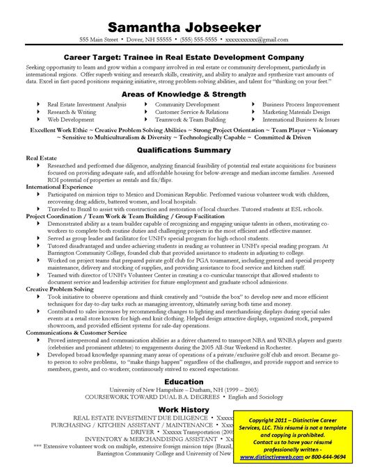 Bold Design Targeted Resume 5 Resume Samples - Resume Example