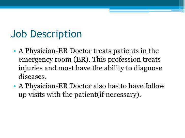 Physician Er Doctor