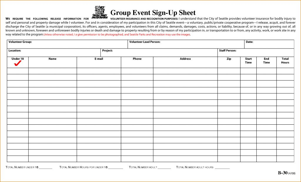 Sign Up Sheet Word Bol Template Example Of Leave Form Free Sample ...