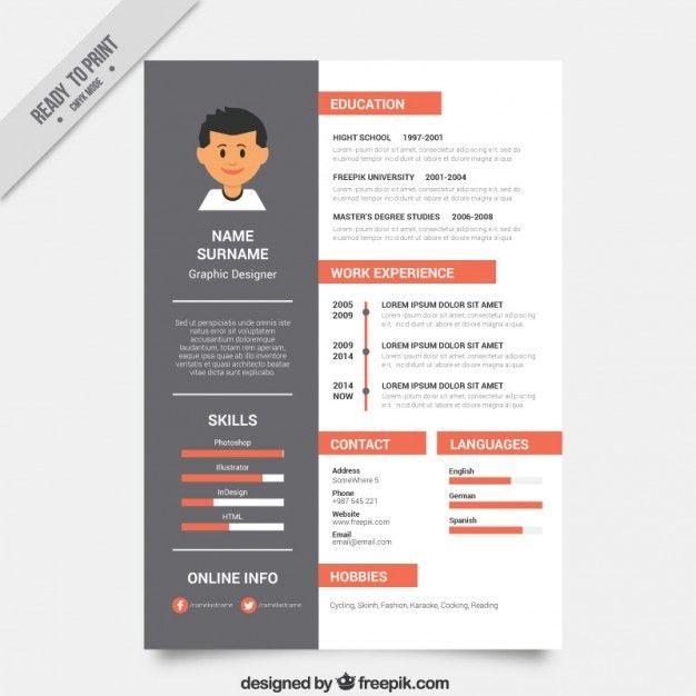 Download Graphic Resume Templates | haadyaooverbayresort.com