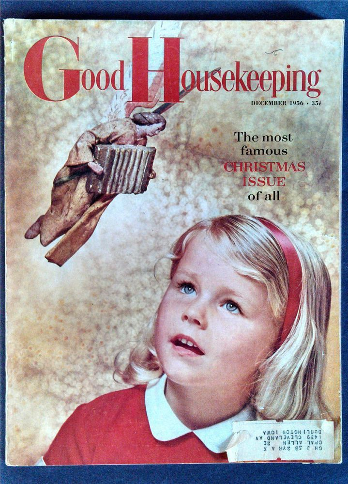 Vtg Good Housekeeping Magazine December 1956 Christmas Issue ...