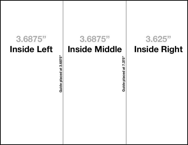 Tri Fold Brochure Template Free | peerpex