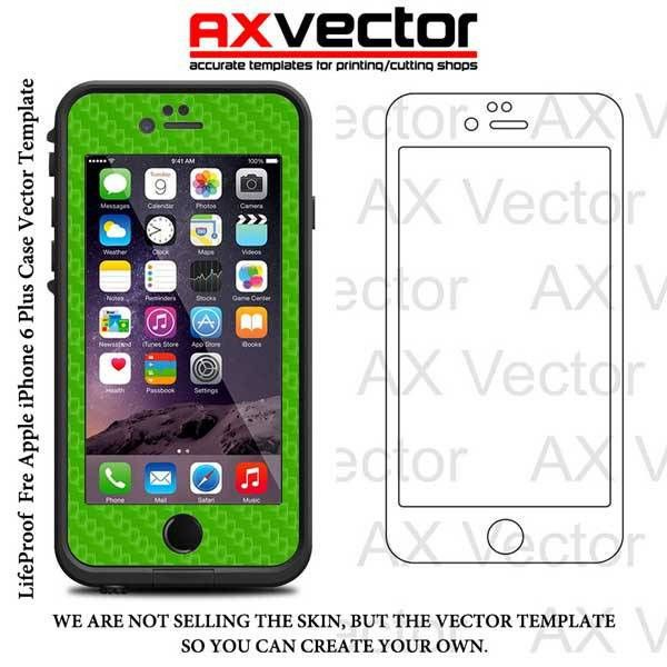 Fre iPhone 6 Plus Vector Template