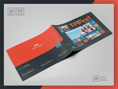 Travel Guide Brochure | Booklet Template by Layout Design LTD ...