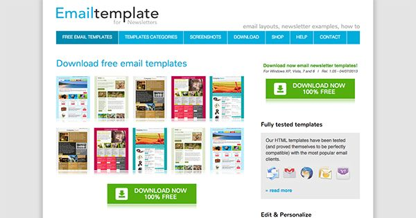 The Best Places to Find Free Newsletter Templates (and How to Use ...