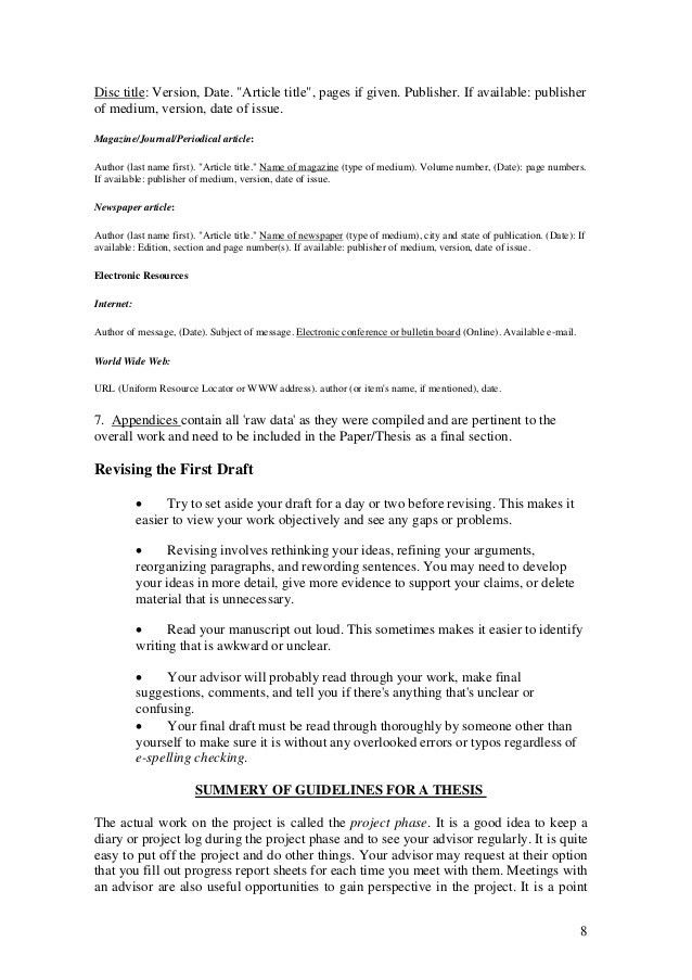 Research/Thesis Preparation, Oral Presentations, CV/Resume, Cover Let…