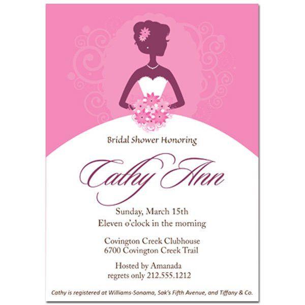 Brides Michaels Invitations Wedding | invitations beautiful bride ...