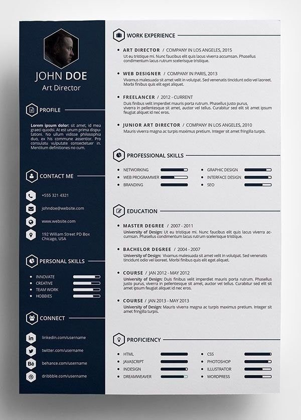 Cool Resume Templates | Template Idea