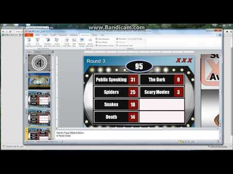 Family Feud Customizable Powerpoint Template - Youth ...